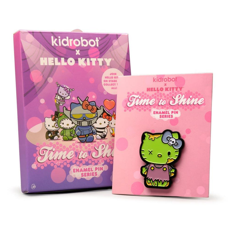 KIDROBOT X SANRIO HELLO KITTY TIME TO SHINE PIN SERIES