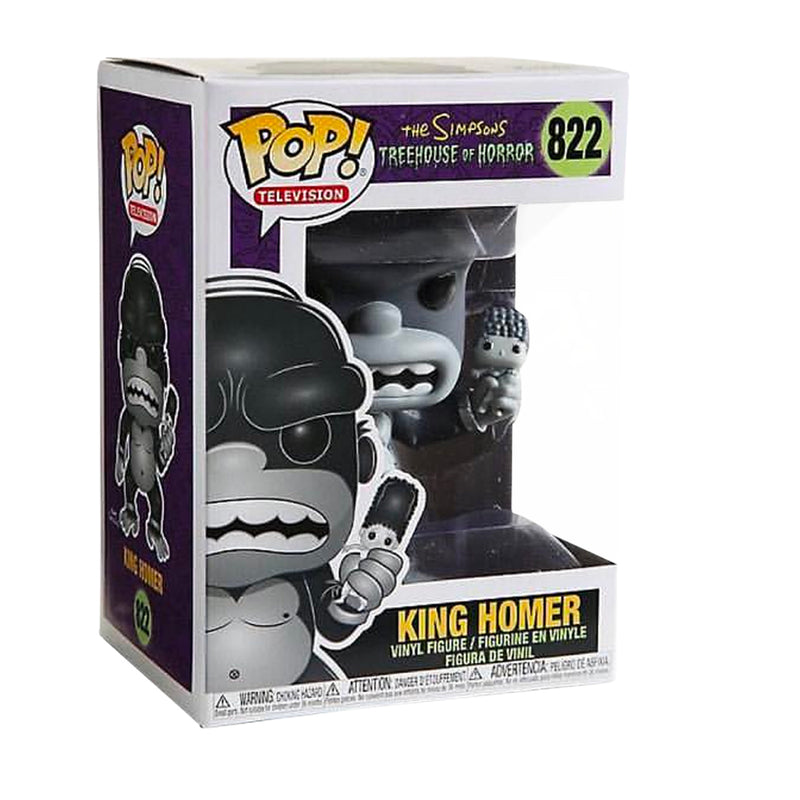 King Homer Funko Pop