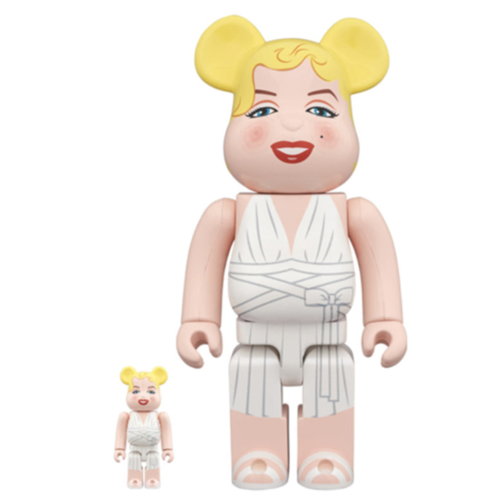 Marilyn Monroe 100% & 400% bearbrick set