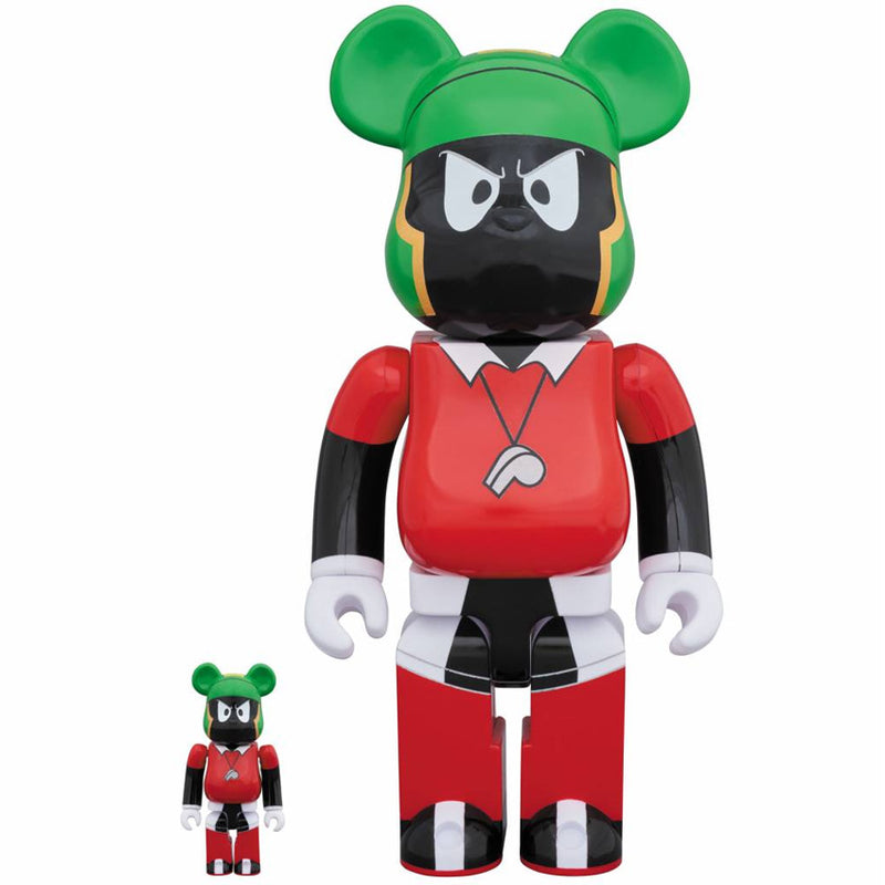 Space Jam Marvin The Martian 100% and 400% Bearbrick Set by Medicom Toy