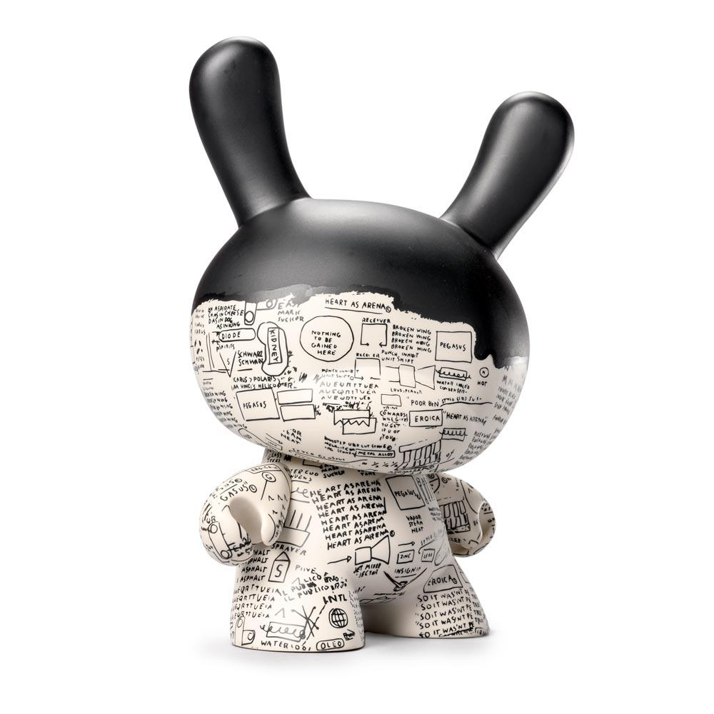 "JEAN-MICHEL BASQUIAT MASTERPIECE PEGASUS 8"" DUNNY ART FIGURE BY KIDROBOT"