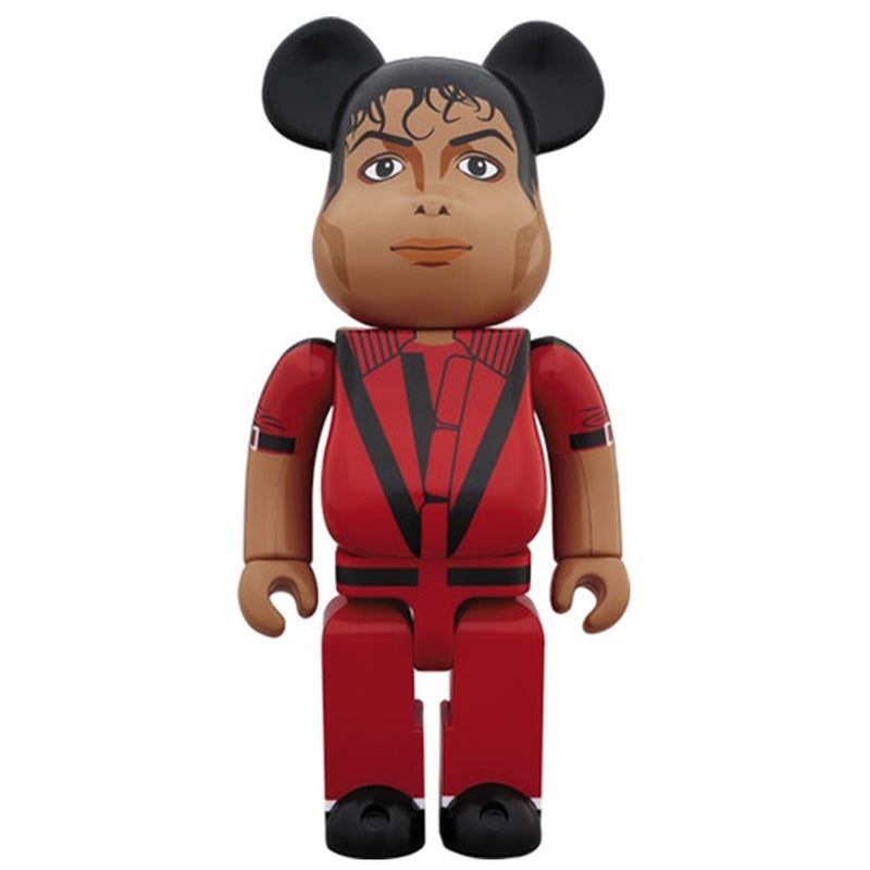 Michael Jackson Thriller Red Jacket 1000% Bearbrick by Medicom Toy