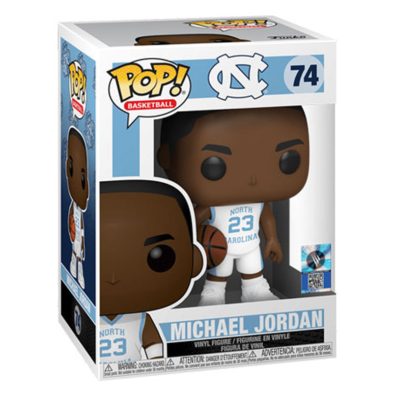 Michael Jordan UNC Away Jersey Pop by Funko