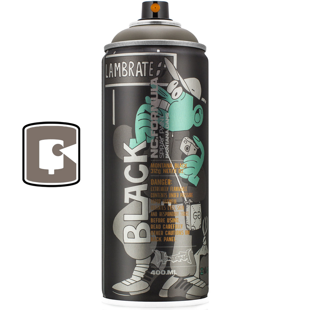 Legosis Montana Black Lambrate Collectors Spray Paint