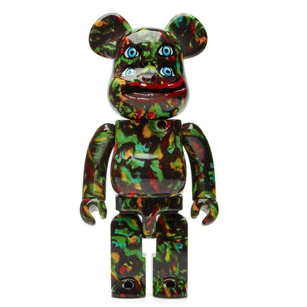 NAGNAGNAG YOTSUME Four Eyes 400% Bearbrick By Medicom Toy