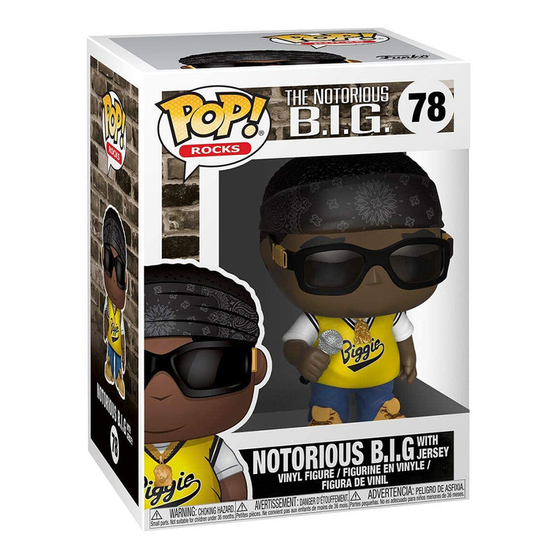 Notorious B.I.G with Jersey Funko Pop #78