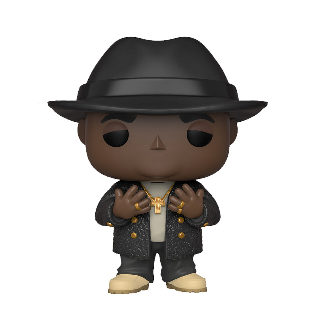Notorious B.I.G with Fedora Funko Pop