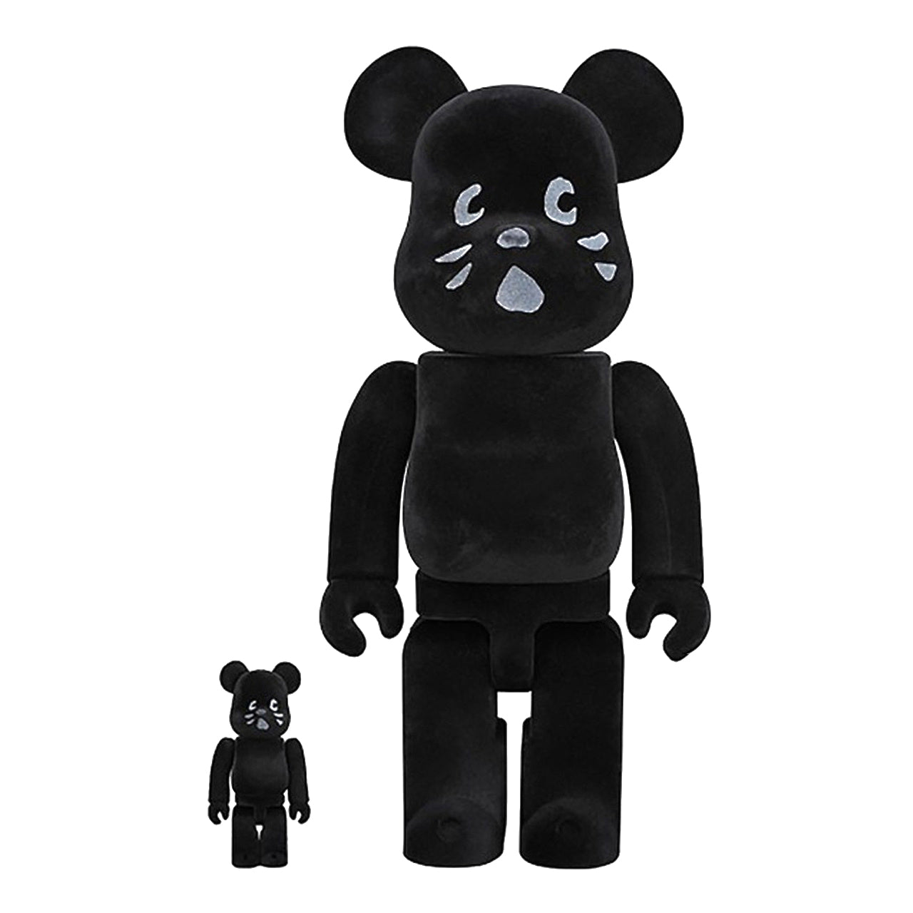 Nya Cat Flocky 100% & 400% BEARBRICK SET by Medicom Toy