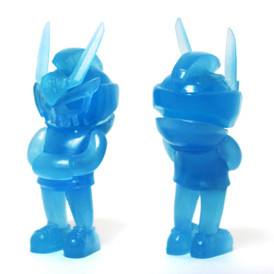 Phantom Blue GID Micro Teq63 by Quiccs x Martian Toys
