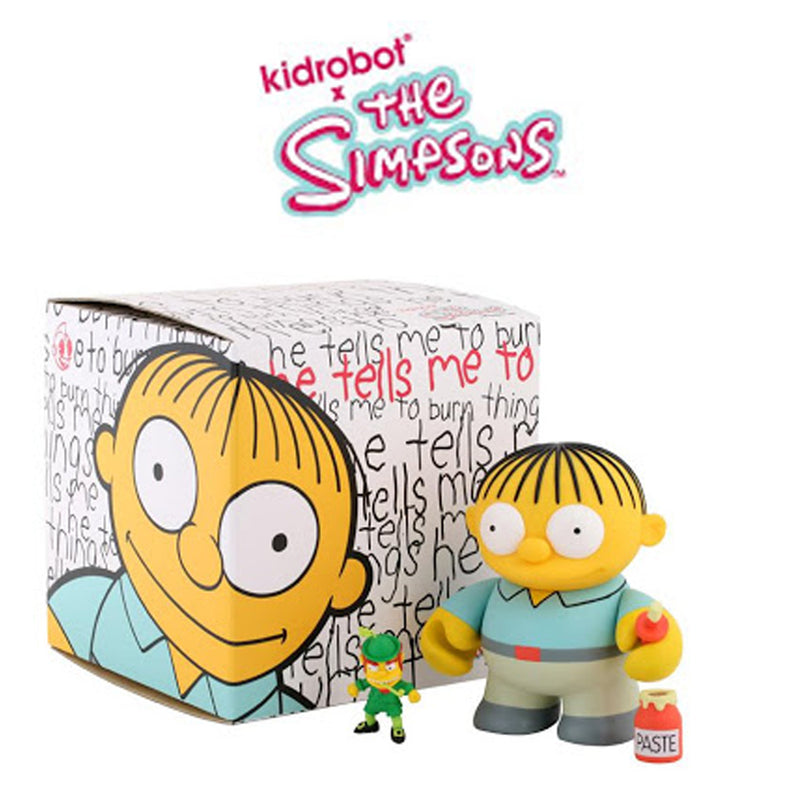 "Ralph Wiggum with both mystery accessories! 6"" Art Figure by Kidrobot"