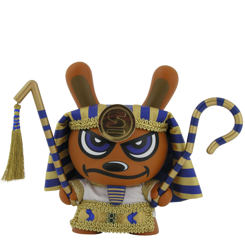 Gold King Tut Dunny by Sketone x Kidrobot