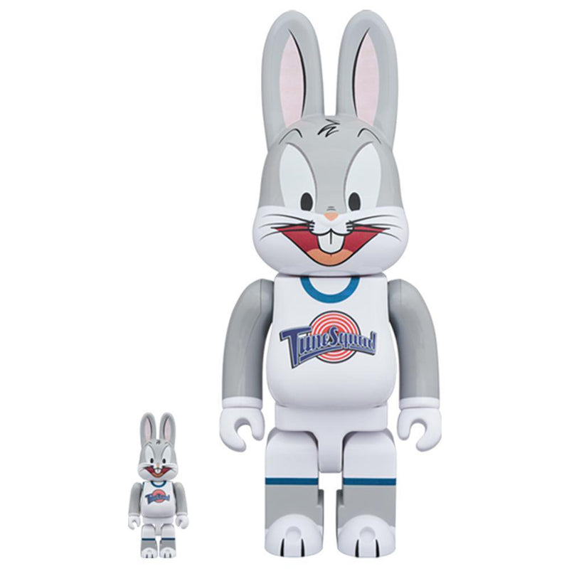 Space Jam Bugs Bunny 100% & 400% Bearbrick Set