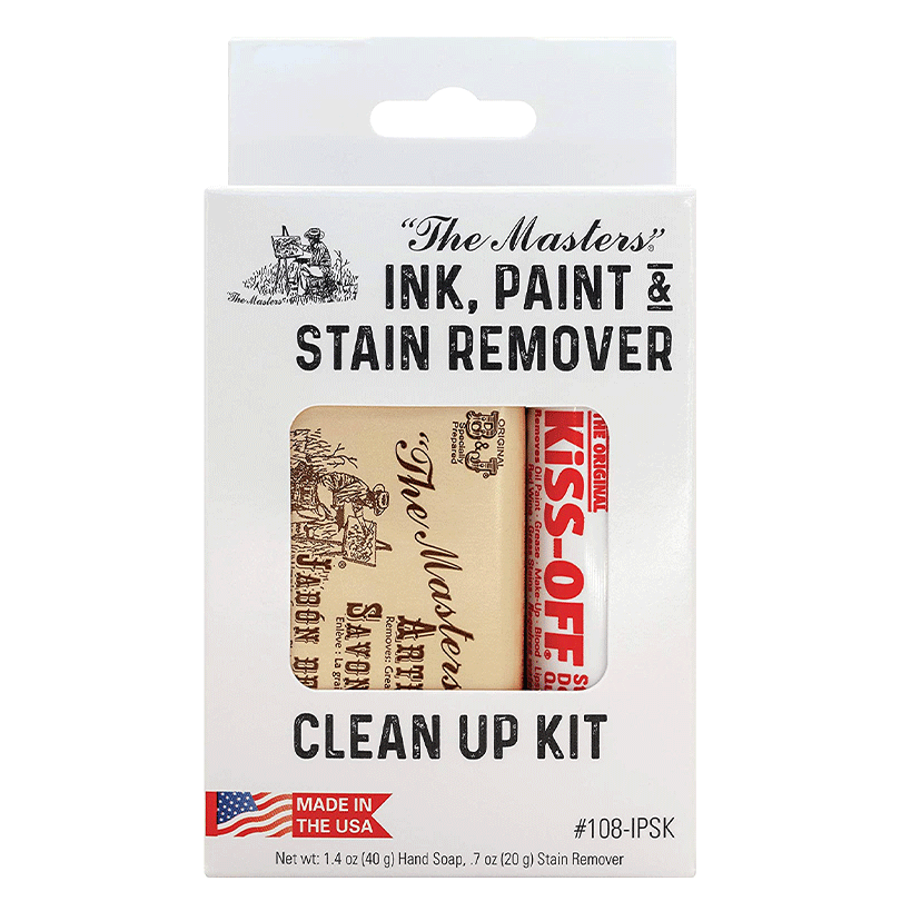 """The Masters"" Ink, Paint & Stain Remover Clean Up Kit"