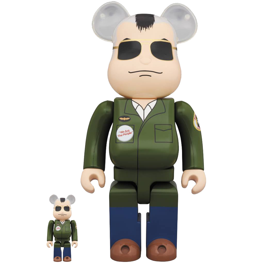 Travis Bickle Taxi Driver 100% & 400% Bearbrick Set by Medicom Toy