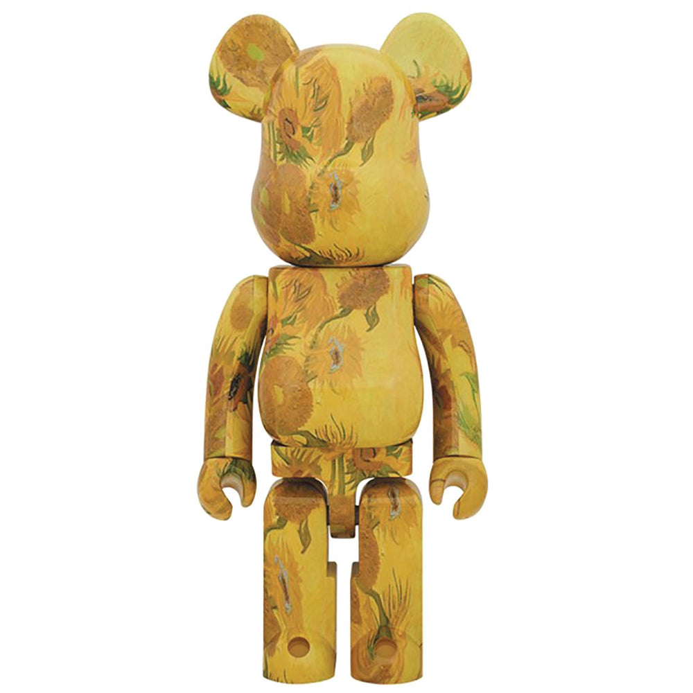 Van Gogh Museum Sunflowers 1000% Bearbrick by Medicom Toy
