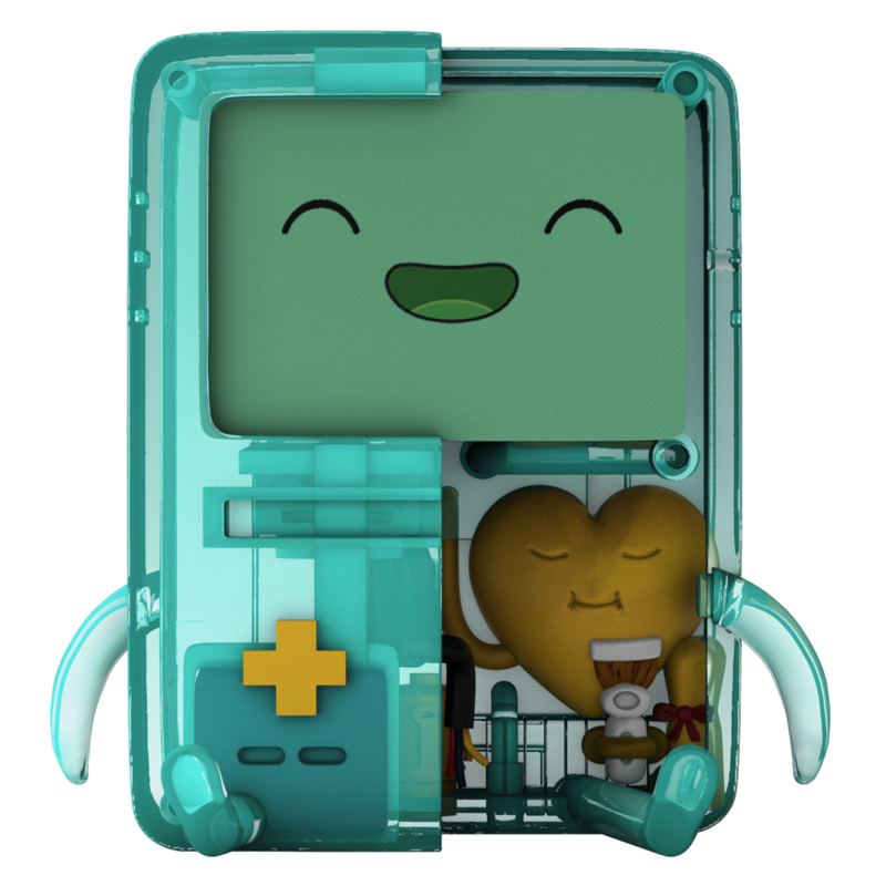 "XXRAY PLUS: 6"" BMO CLEAR EDITION by Mighty Jaxx"