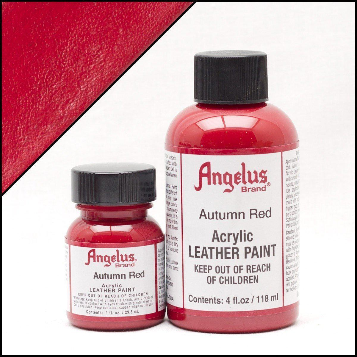 Autumn Red-Angelus-Leather Paint-TorontoCollective