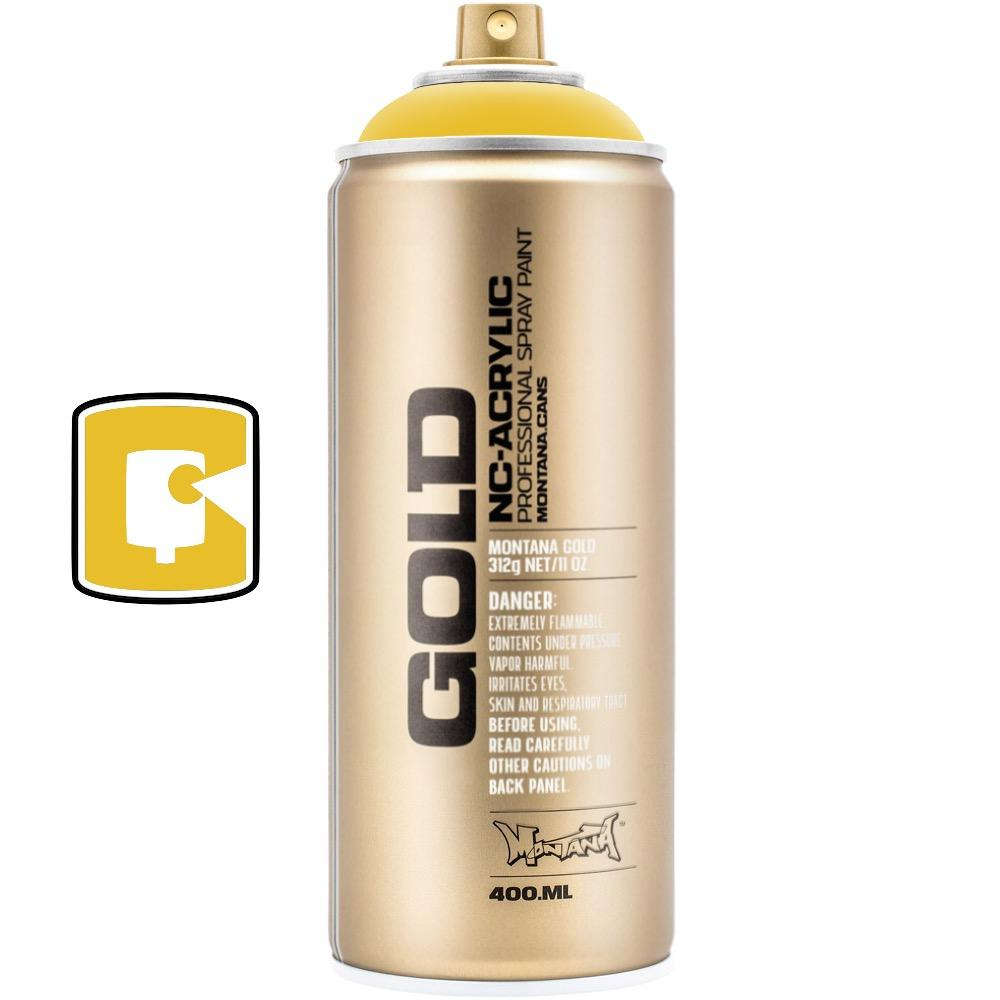 Banana-Montana Gold-400ML Spray Paint-TorontoCollective