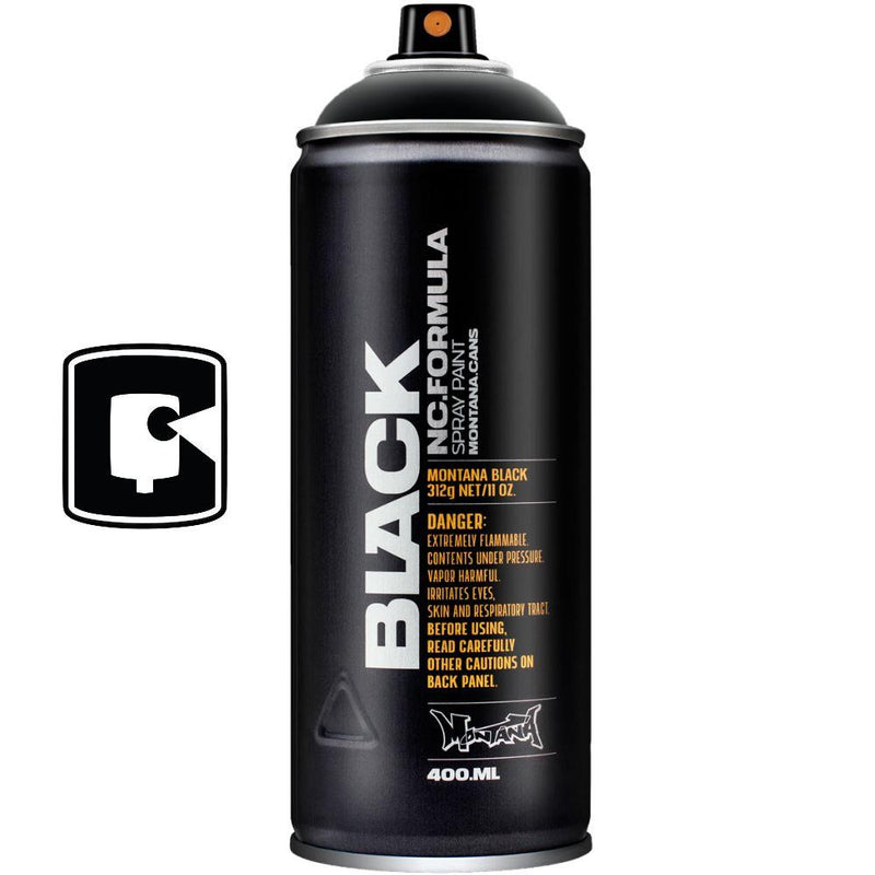 Black-Montana Black-400ML Spray Paint-TorontoCollective