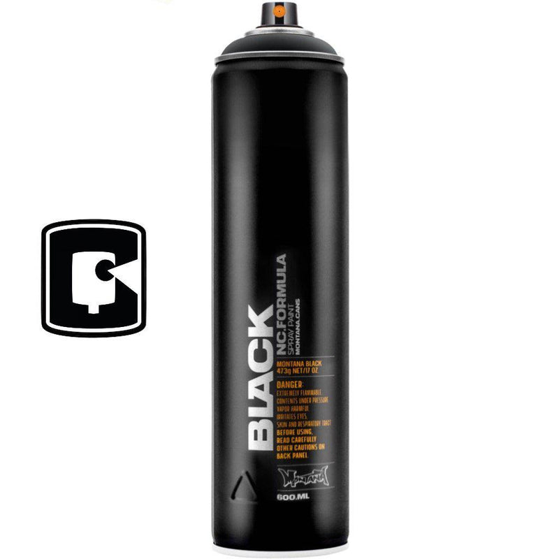 Black-Montana Black Extended-600ML Spray Paint-TorontoCollective