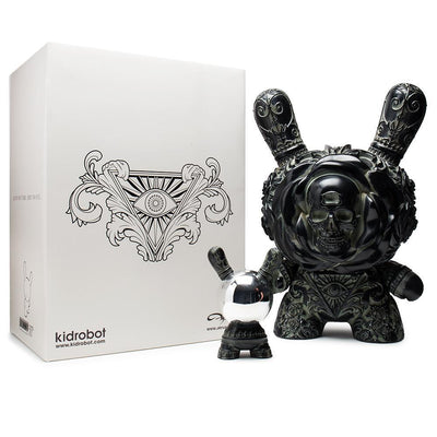 "Clairvoyant Arcane Divination 20"" Antique Black Dunny by Jryu-Kidrobot-20"" Dunny-TorontoCollective"
