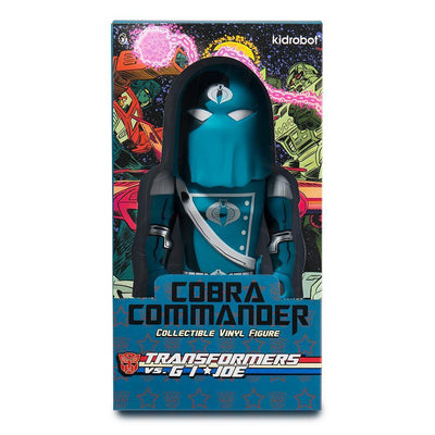 "Cobra Commander Transformers Vs G.I.Joe 7"" Medium Figure-Kidrobot-Medium Figure-TorontoCollective"
