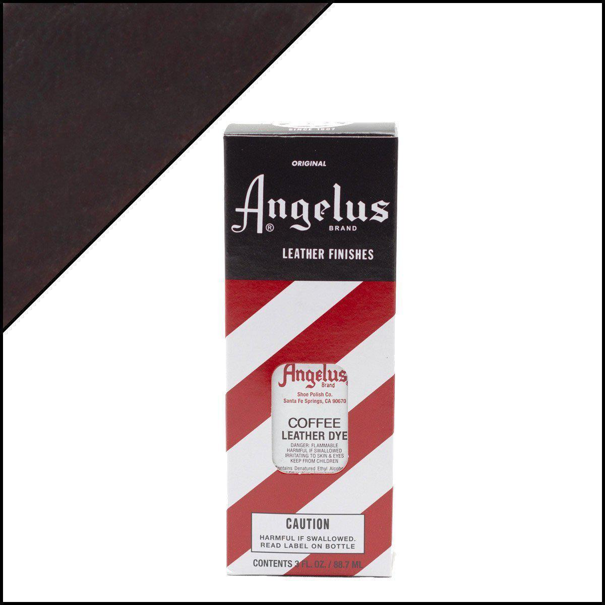 Coffee-Angelus-Leather Dye-TorontoCollective