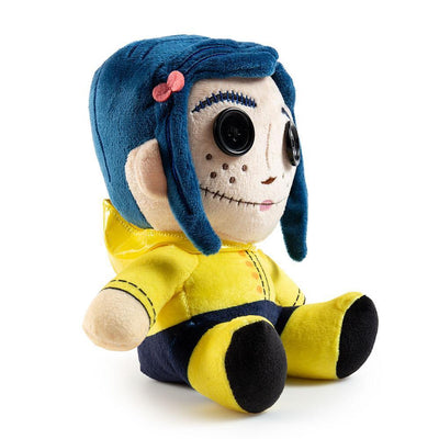 CORALINE WITH BUTTON EYES PHUNNY PLUSH-Kidrobot-Plush-TorontoCollective