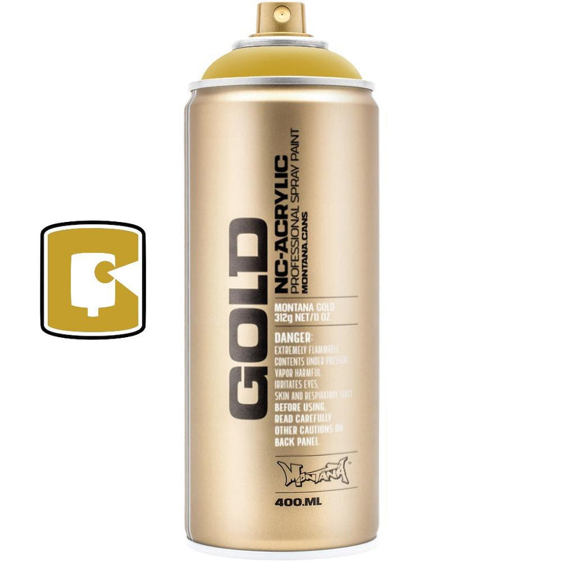 Curry-Montana Gold-400ML Spray Paint-TorontoCollective