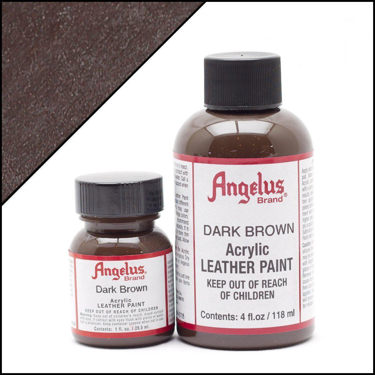 Dark Brown-Angelus-Leather Paint-TorontoCollective