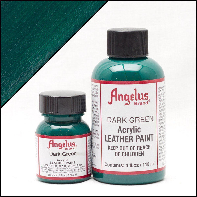 Dark Green-Angelus-Leather Paint-TorontoCollective
