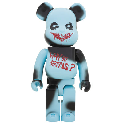 Dark Knight Trilogy Joker Why So Serious 1000% Bearbrick by Medicom Toy