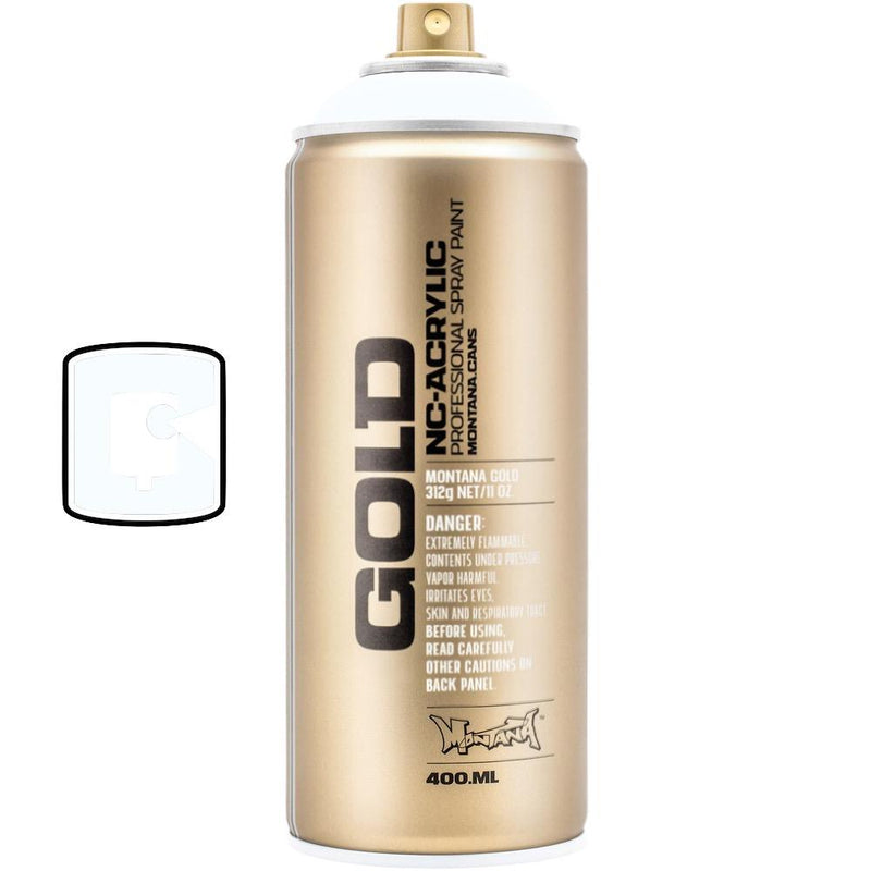 Disco White-Montana Gold Fluorescents-400ML Spray Paint-TorontoCollective