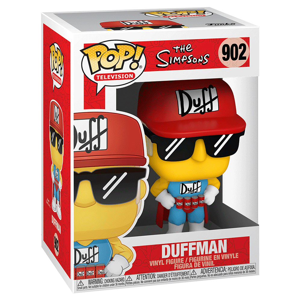 The Simpsons Duffman FUNKO POP #902
