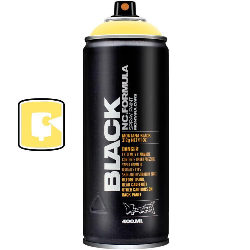 Easter Yellow-Montana Black-400ML Spray Paint-TorontoCollective