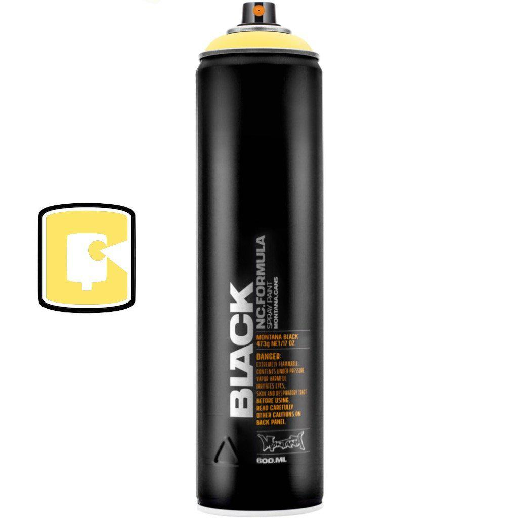 Easter Yellow-Montana Black Extended-600ML Spray Paint-TorontoCollective