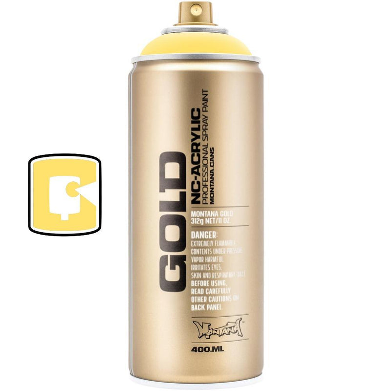 Easter Yellow-Montana Gold-400ML Spray Paint-TorontoCollective