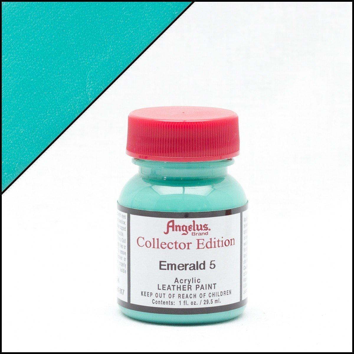 Emerald 5-Angelus-Collectors Leather Paint-TorontoCollective
