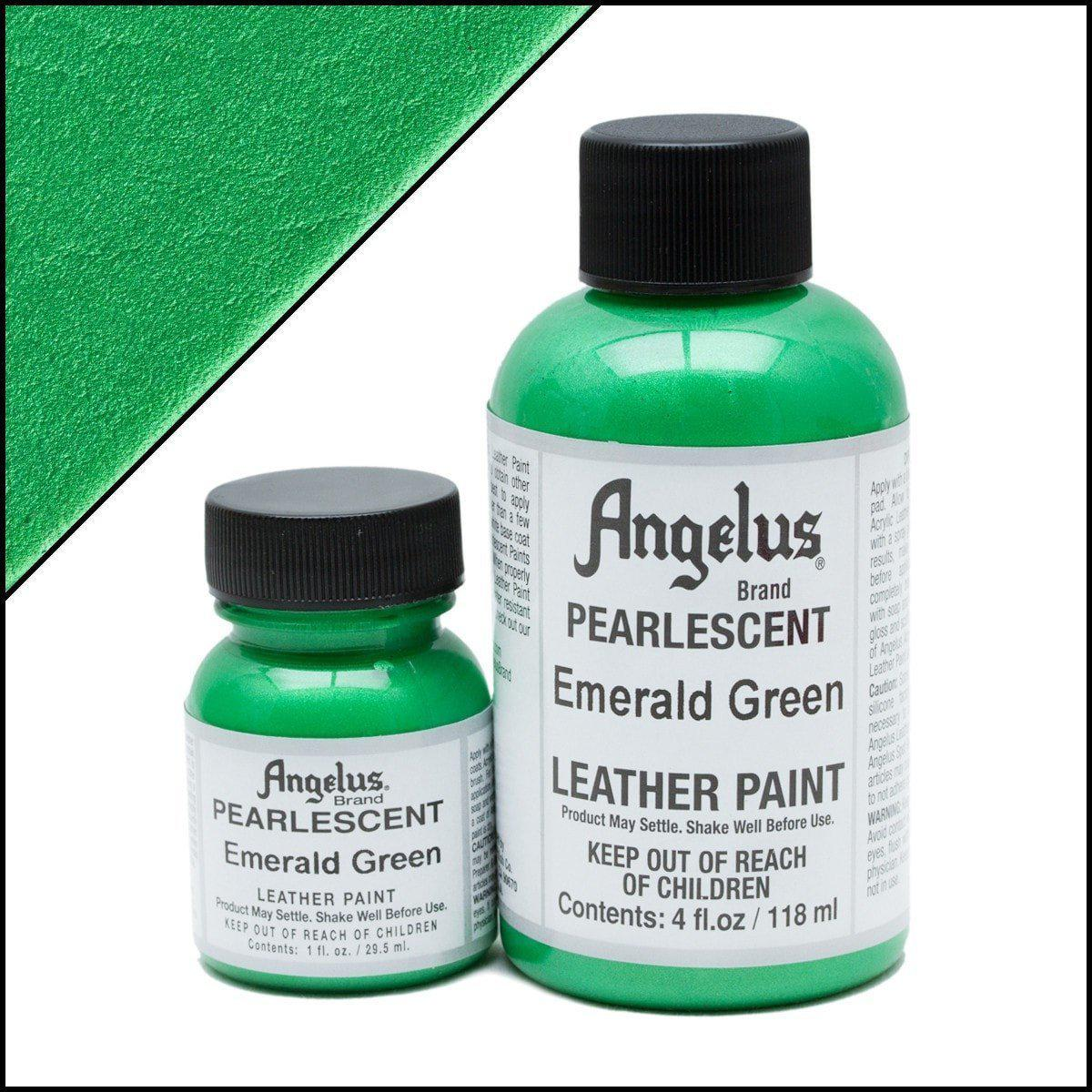 Emerald Green-Angelus-Pearlescent Leather Paint-TorontoCollective
