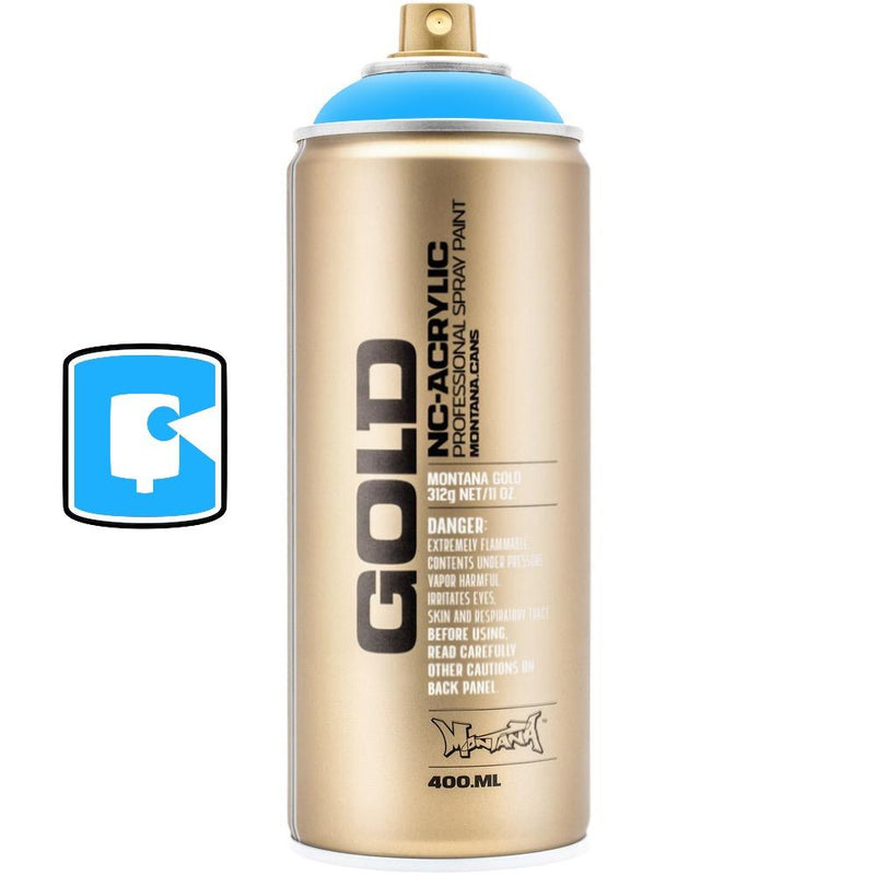 Flame Blue-Montana Gold Fluorescents-400ML Spray Paint-TorontoCollective