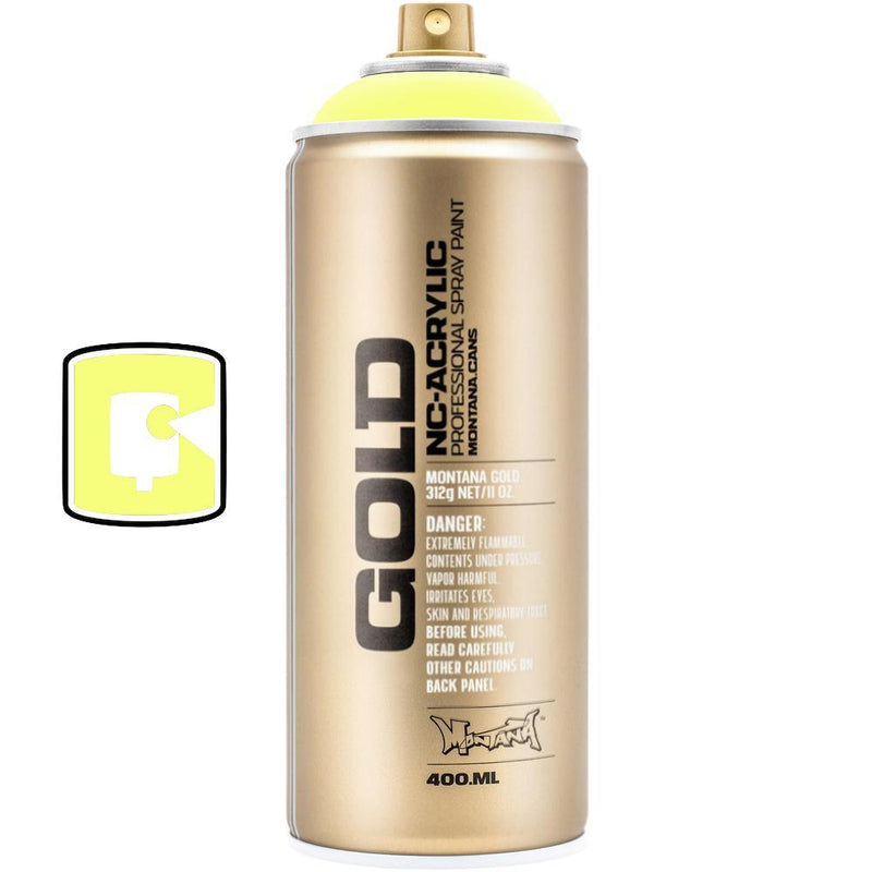 Flash Yellow-Montana Gold Fluorescents-400ML Spray Paint-TorontoCollective