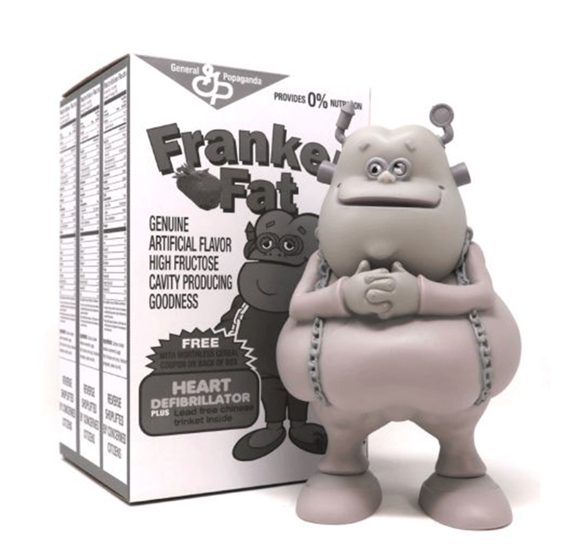 Franken Fat Monotone Edition by Ron English
