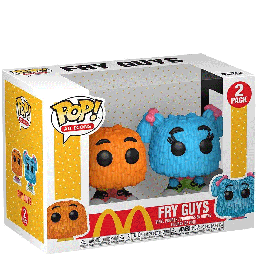 Pop Icons Mcdonalds Fry Guy 2 Pack by Funko