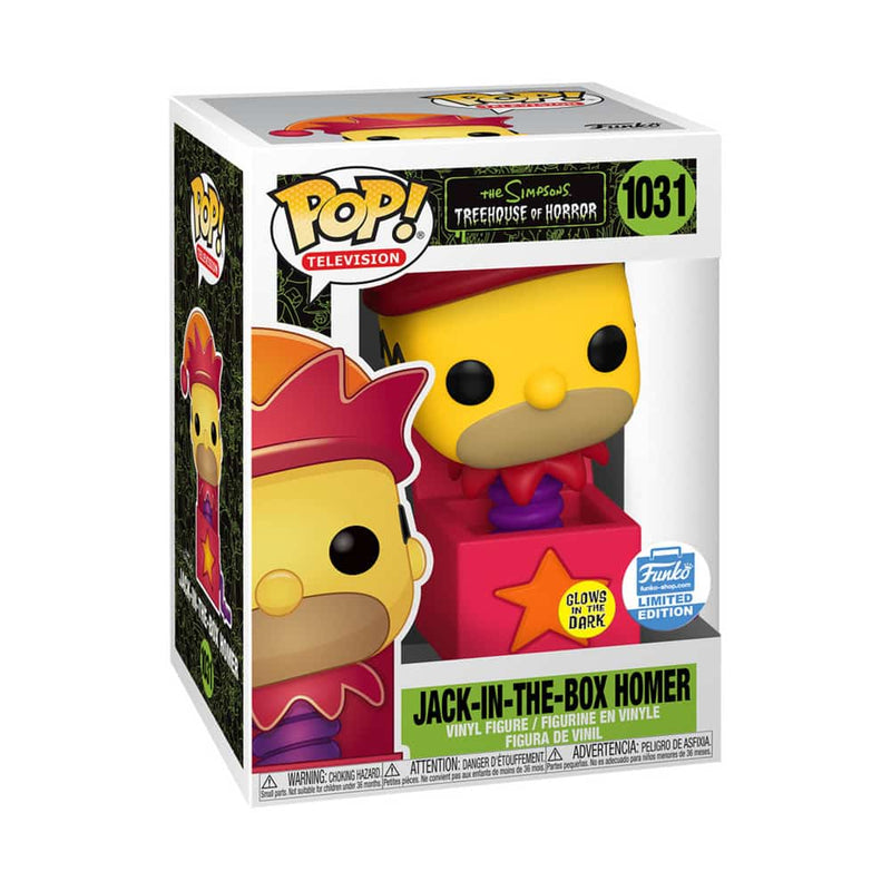 Jack-in-the-box Homer Funko POP #1031