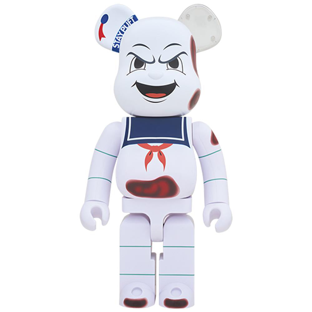 Ghostbusters Stay Puft Angry Face 1000% Bearbrick by Medicom Toy