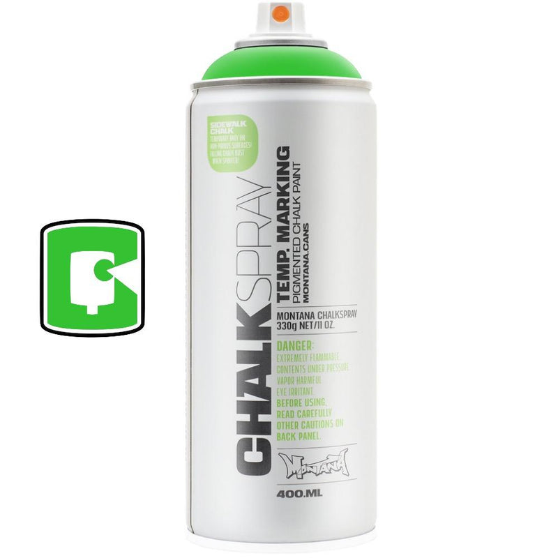 Green-Montana Chalk-400ML Spray Paint-TorontoCollective