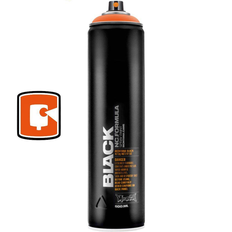 Halloween-Montana Black Extended-400ML Spray Paint-TorontoCollective