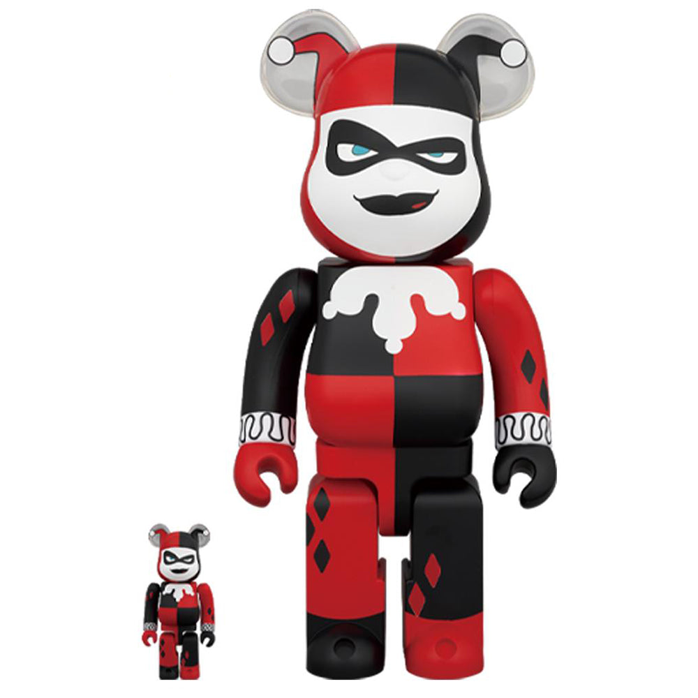 Harley Quinn Batman The Animated Series 100% & 400% bearbrick set by Medicom Toy