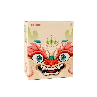 Imperial Lotus Dragon Dunny by Scott Tolleson-Kidrobot-Dunny-TorontoCollective
