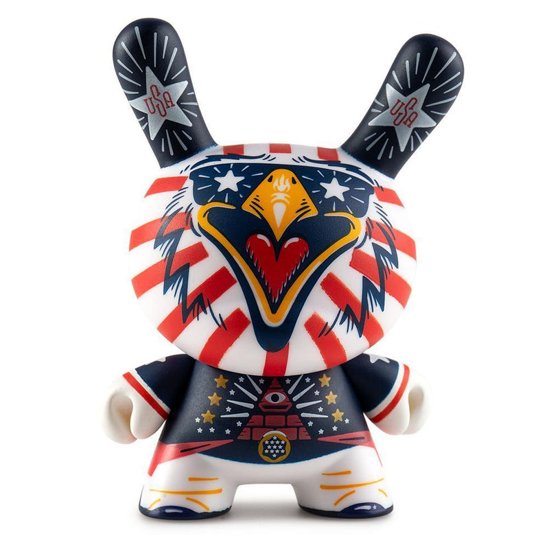 "INDIE EAGLE 3"" DUNNY ART FIGURE BY KRONK-Kidrobot-Dunny-TorontoCollective"